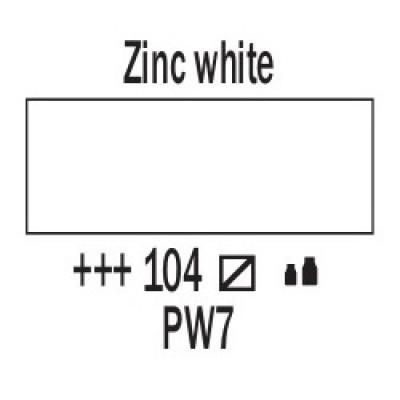 Білила цинкові (104), 20 мл., AMSTERDAM, акрилова фарба