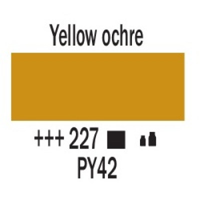 Охра жовта (227), 20 мл., AMSTERDAM, акрилова фарба