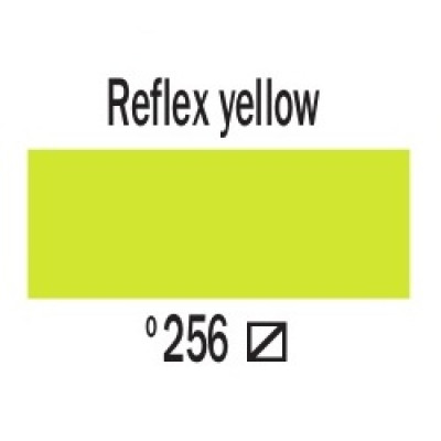 Дзеркальний жовтий (256), 20 мл., AMSTERDAM, акрилова фарба