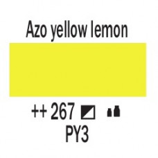 AZO Жовтий лимонний (267), 20 мл., AMSTERDAM, акрилова фарба