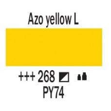 AZO Жовтий світлий (268), 20 мл., AMSTERDAM, акрилова фарба
