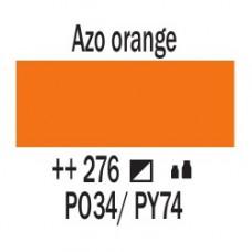 AZO Помаранчевий (276), 20 мл., AMSTERDAM, акрилова фарба