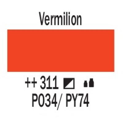 Кіновар (311), 120 мл, акрилова фарба Amsterdam, Royal Talensss