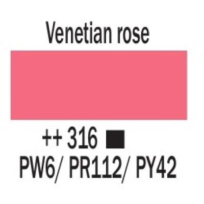 Венеціанська рожева (316), 20 мл., AMSTERDAM, акрилова фарба