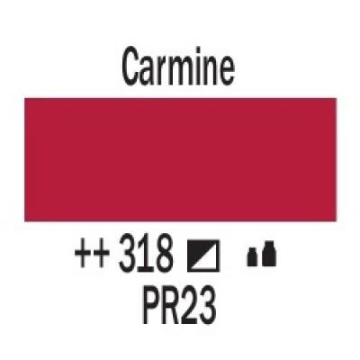 Карміновий (318), 20 мл., AMSTERDAM, акрилова фарба