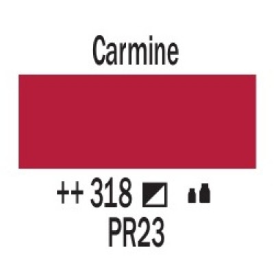 Кармін (318), 120 мл, акрилова фарба Amsterdam, Royal Talensss