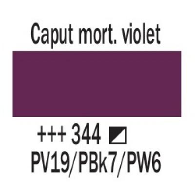 Капут мортуум фіолетовий (344), 20 мл., AMSTERDAM, акрилова фарба