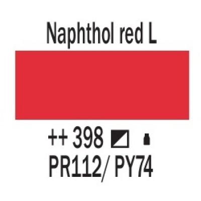 Нафтоловий червоний світлий (398), 20 мл., AMSTERDAM, акрилова фарба