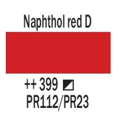 Нафтоловий червоний темний (399), 20 мл., AMSTERDAM, акрилова фарба