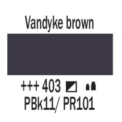 Ван Дік коричневий (403), 20 мл., AMSTERDAM, акрилова фарба