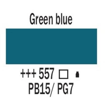 Зелено-синій (557), 20 мл., AMSTERDAM, акрилова фарба
