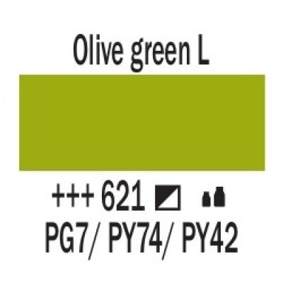 Оливковий зелений світлий (621), 20 мл., AMSTERDAM, акрилова фарба