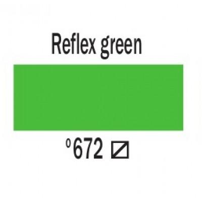 Дзеркальний зелений (672), 20 мл., AMSTERDAM, акрилова фарба