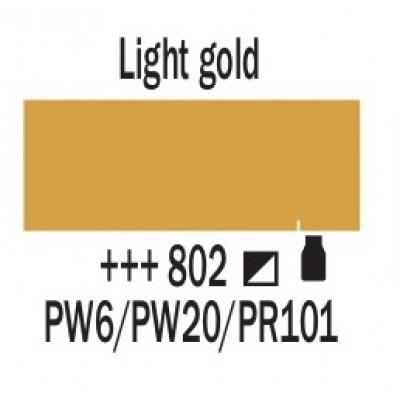 Золотий світлий (802), 20 мл., AMSTERDAM, акрилова фарба