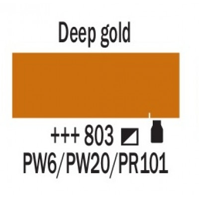 Золотий темний (803), 20 мл., AMSTERDAM, акрилова фарба
