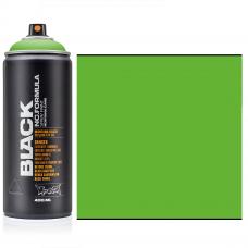 Інтенсивна Зелена, акрилова аерозольна фарба, 400 мл., Montana BLACK P 6000 Power Green