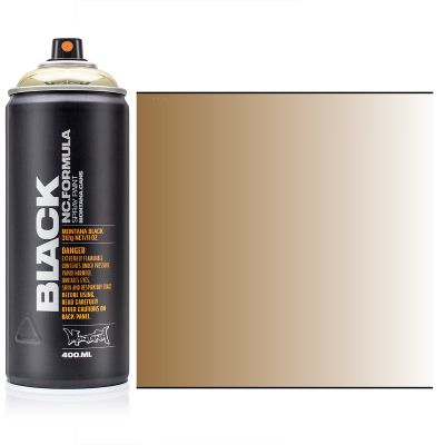 Аерозольна фарба, Золотий хром Montana BLACK Goldchrome 400 мл.