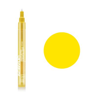 Акриловий маркер Жовтий, Montana ACRYLIC Marker 0,7 mm