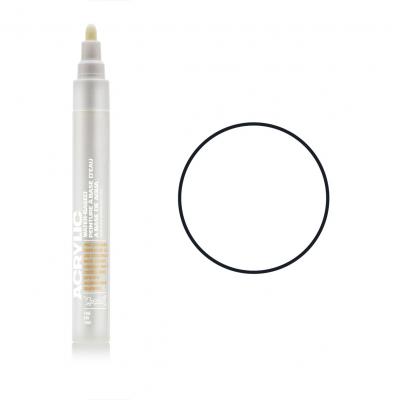 Акриловий маркер Білий, Montana ACRYLIC Marker 2 mm