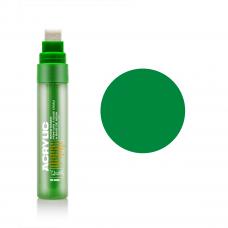 Зелений акриловий маркер, 15 мм., Montana ACRYLIC Marker