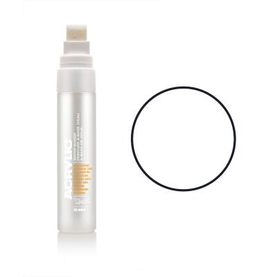 Акриловий маркер Білий, Montana ACRYLIC Marker 15 mm