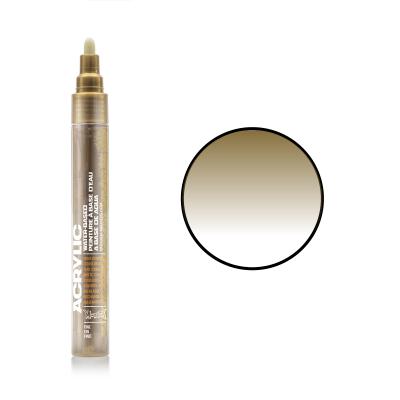 Акриловий маркер Золото, Montana ACRYLIC Marker 2 mm