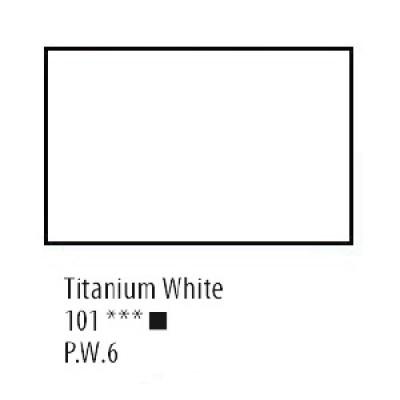 Білила титанові акрилова фарба, 75 мл, Сонет