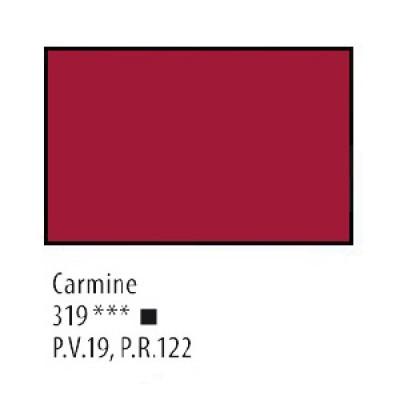 Кармінова акрилова фарба, 75 мл, Сонет