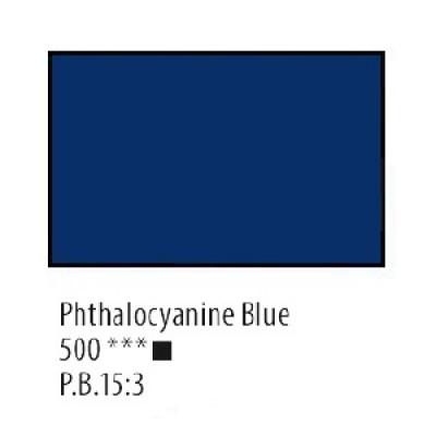 Блакитна ФЦ акрилова фарба, 75 мл, Сонет