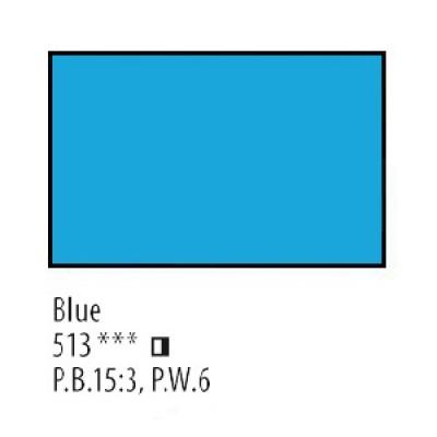 Блакитна акрилова фарба, 75 мл, Сонет
