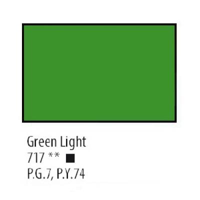 Зелена світла акрилова фарба, 75 мл, Сонет