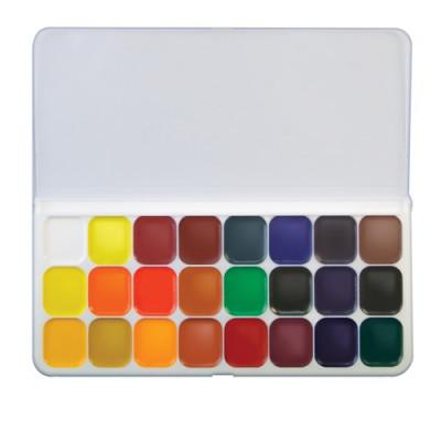 Акварельні фарби Луч Люкс (De Luxe), 16 кольорів