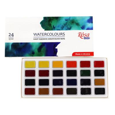 Акварельні фарби Роса 24 кольори 340324