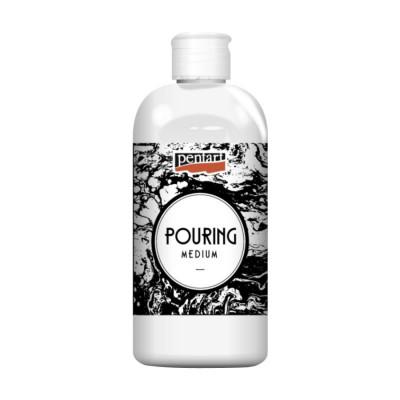 Медіум Pouring на водній основі для акрилових фарб, 500мл, Pentart