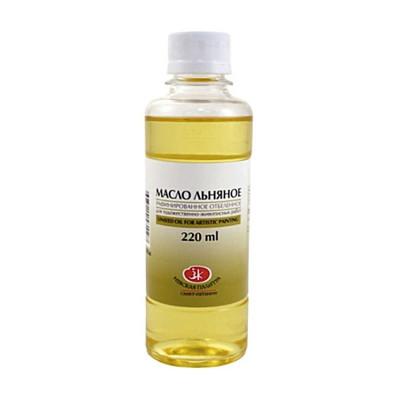 Олія лляна рафінована вибілена, ЗХК, 220мл