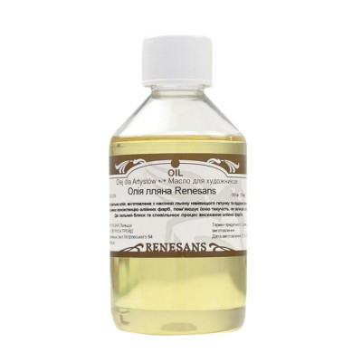 Лляна олія Renesans 250 мл. REGOL250