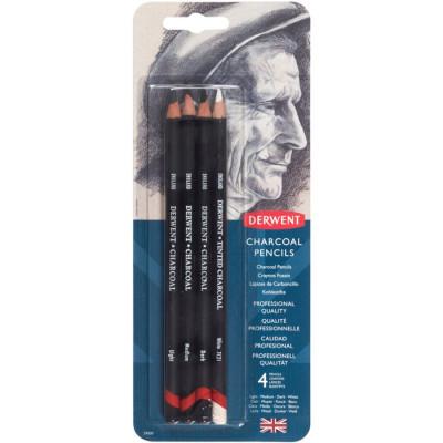 Вугілля Derwent в олівцях, набір 39000