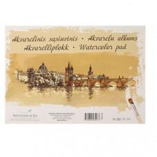 Альбом-склейка для акварелі, А3, 10л, 200г/м2, Gold SMILTAINIS