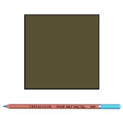 Карандаш пастельный Коричнево-зеленый, Cretacolor 472 17