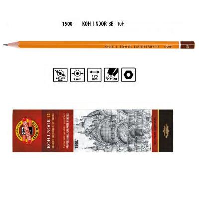 Олівець графітний, 1500 В, KOH-I-NOOR