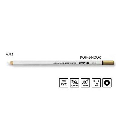 Гумка олівець в деревянному корпусі, KOH-I-NOOR 6312