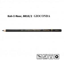 Олівець GIOCONDA художній вугільний, Koh-I-Noor, 8810/2