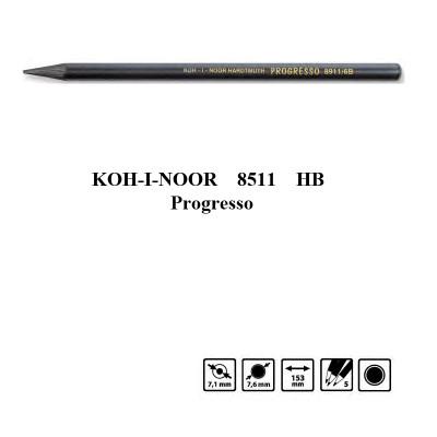 Олівець бездеревний Progresso 8911 HB, Koh-i-Noor