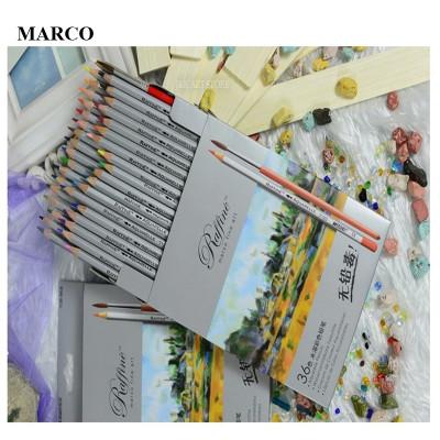 Набір кольорових акварельних олівців, 36 кольори, MARCO Raffine 7120-36CB