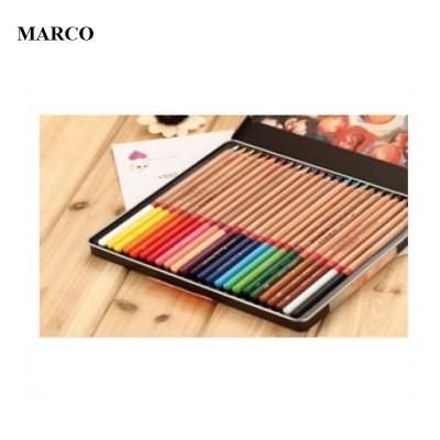 Набір професійних кольорових олівців , 36 шт. В металевому пеналі , Marco Renoir. FineArt-36-tn