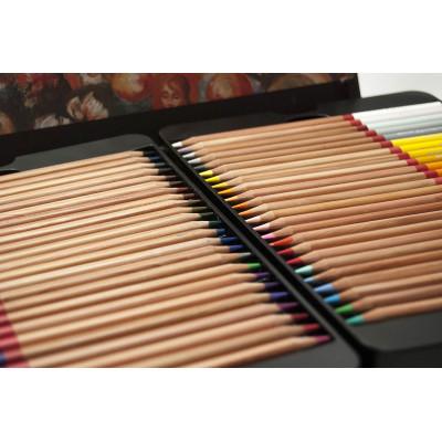 Набір професійних кольорових олівців , 36 шт.. В металевому пеналі , Marco Renoir. FineArt-36-tn