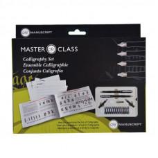 Набір для каліграфії, Masterclass Set (2 ручки, 4 пера, 12 картриджів, конвертер), Manuscript