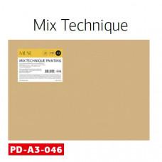 Набір паперу для рисунку, А3, 20л, 240 гм2, Школярик MUSE