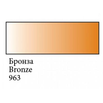 Бронза гуашева фарба, металік, 100мл, Сонет