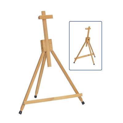 Мольберт настільний, переносний, А-подібний, дерев'яний (бук). Вага 1кг. Висота полотна до 57см.